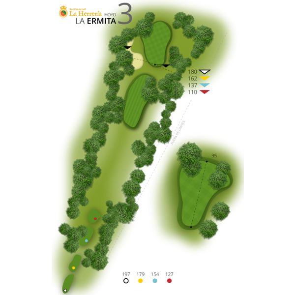 Hole 3 | The Hermitage