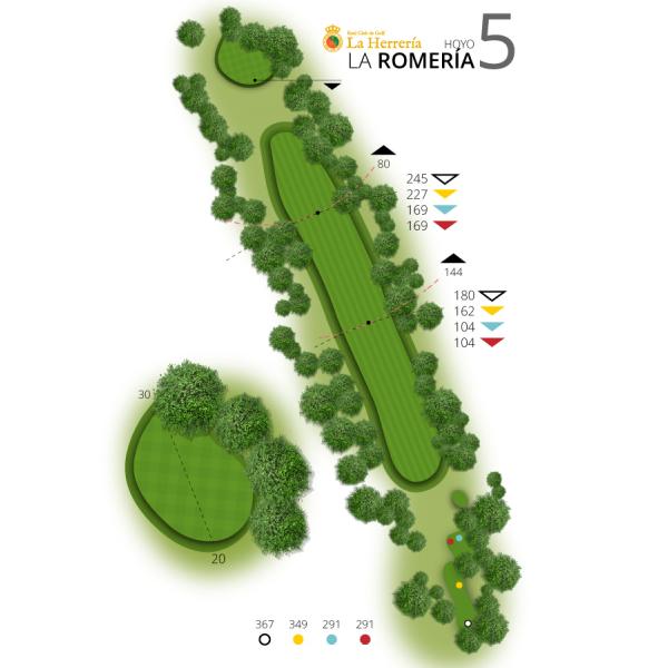 Hole 5 | The Romeria