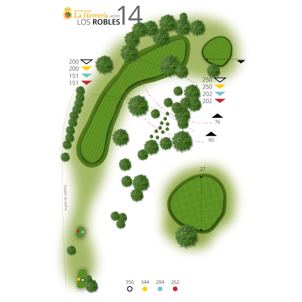 Hole 14 | The Robles