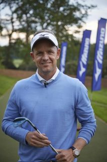Luke Donald was on hand to officially open the new range and the tour studio