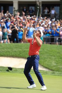 DECHAMBEAU WINS MEMORIAL AFTER PLAY-OFF