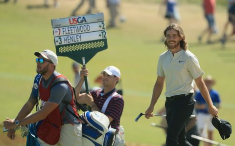 Tommy Fleetwood's final round 63 proved one shot shy of the winning total