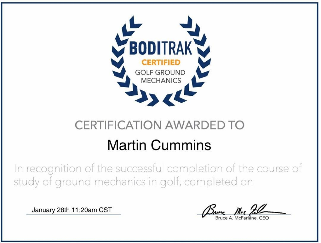 🇬🇧Some good stuff on the updated @boditrakeu Golf Ground Mechanics certification. A great tool that makes coaching simple and effective. 🇪🇸Buena información en la actualizada certificación @boditrakeu Golf Ground Mechanics. Un apparatus muy útil que hace clases sencillas y efectivas