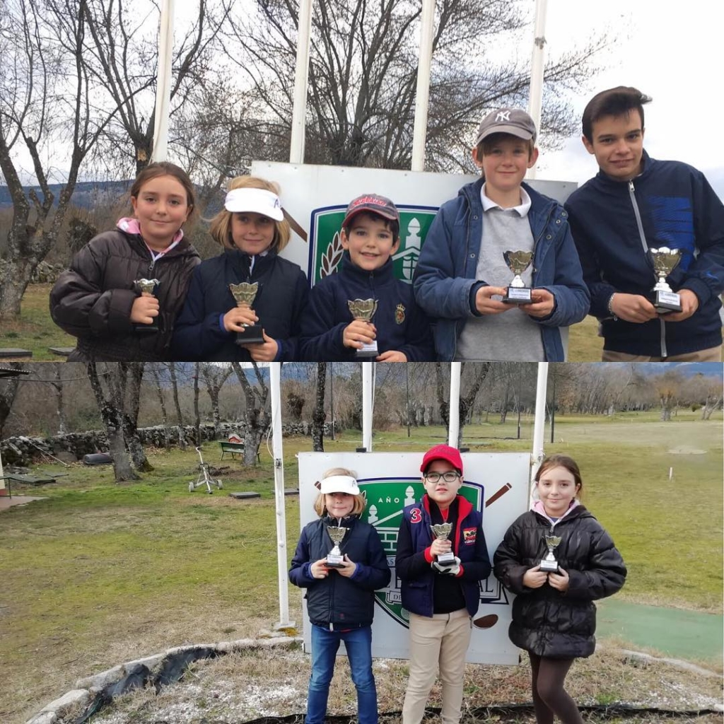 🇬🇧The monthly tournament of the year for the kids academy took place yesterday at Asociación de Golf Villa de El Escorial. The scores get better every time and the kids love the competition. Well done to the winners and all competitors. Good job @juanlopezdelhierro13. 🇪🇸Segundo torneo mensual de año por la escuela infantil se celebró ayer en el campo de Asociación de Golf Villa de El Escorial. Los scores se reducen todos los meses y los niños les encanta a competir. Enhorabuena a todos los ganadores y competidores. También buen trabajo @juanlopezdelhierro13.