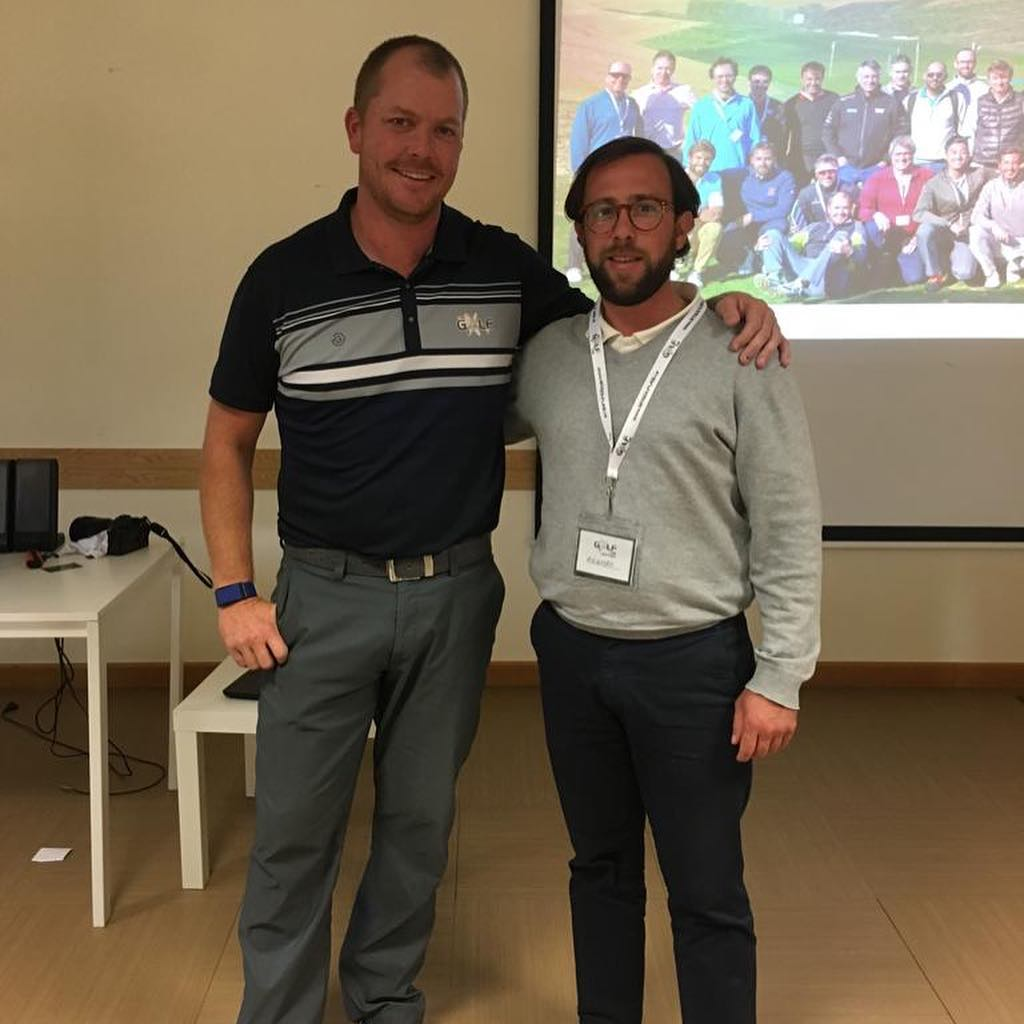 🇬🇧MCGP Teaching Profesional @alejandritoras has been attending the @thegolflab fitting seminar with one of the worlds leading lights Liam Mucklow to ensure our clients receive the best fitting service possible in our academy. We can't wait to hear all about it!. 🇪🇸MCGP Entrenador @alejandritoras ha asistido el seminar de fitting de @golflab con unos de los mejores fitters en el mundo Liam Mucklow para asegurar que nuestros clientes el mejor servicio de fitting posible. Tenemos ganas a escuchar de todo