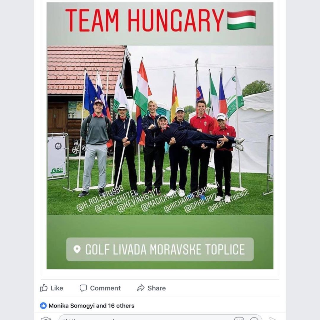 🇬🇧Good luck Team Hungary in the European Olympic Hopes Trophy in Slovenia this week. 🇪🇸Muchísima suerte a Team Hungary en el European Olympic Hopes Trophy en Eslovenia esta semana. @h.roller1989 @bencekotel @kevink6317 @bertenyibence @magicmogyi @richardifjsarkozi @gphilipp7