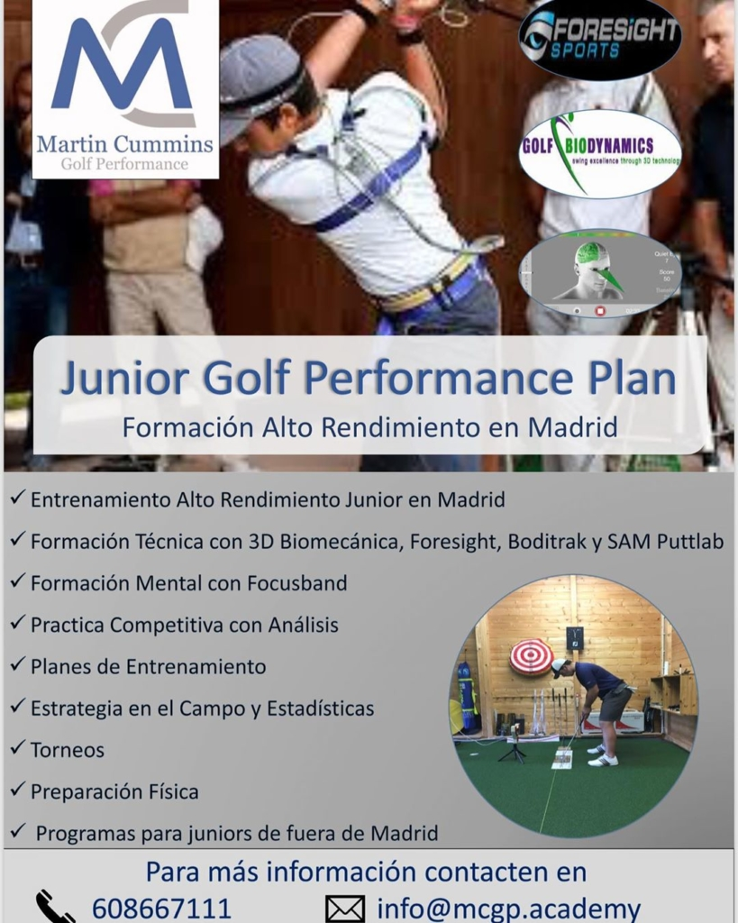 🇪🇸De septiembre los nuevos MCGP Junior Performance Planes. Más contenido, más formación, más equipo, más tecnología y más plazas. También programas para juniors que viven de fuera de Madrid. 🇬🇧From September the new MCGP Junior Performance Plans.  More content, more training, more technology, more equipment and more spaces. Also programs for juniors who don't live in or close to Madrid