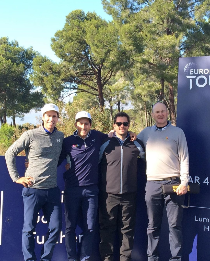 🇪🇸Enhorabuena @carlospigem después de conseguir su tarjeta de @europeantour en la 'European Tour School PQ3' hoy. Un gran esfuerzo en la semana más dura en el golf. También enhorabuena al equipo su entrenador @m.a.duque y caddie @xavi.pg . Creo que vas a ver su bolsa bastante más en 2020 Xavi!. Un placer a realizar mi parte pequeña en todo. 🇬🇧Congratulations to @carlospigem for earning his tour card at the European Tour School PQ3 today. A great effort at the toughest week in golf. Also to his coach @m.a.duque and caddy @xavi.pg. I think you're going to see a lot more of that bag in 2020, Xavi!!. A pleasure to play my small part in it all